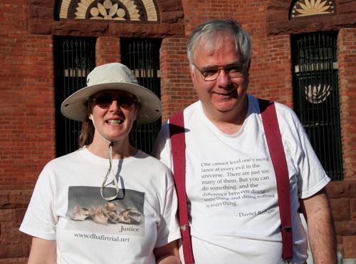 Katherine Hughes and Bob Elmendorf
